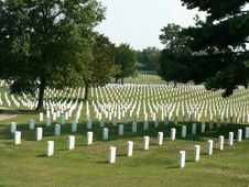 Free Nashville National Cemetery Royalty Free Stock Images - 6616439