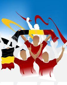 Free Belgian Crowd Royalty Free Stock Image - 6616546