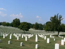 Free Nashville National Cemetery Royalty Free Stock Images - 6616619