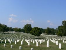 Free Nashville National Cemetery Royalty Free Stock Photo - 6616625