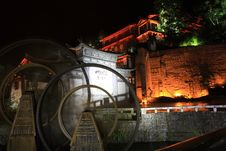 Free Night View Of Lijiang Stock Photos - 6616663