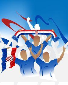 Croatia Crowd Stock Images