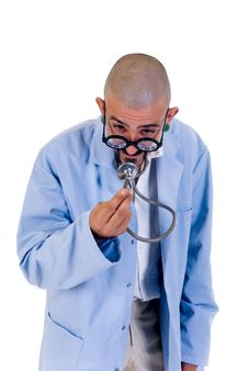 Free Nutty Doctor Stock Image - 6617201