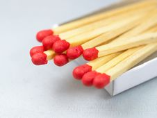 Free MATCH STICKS Stock Photography - 6617632