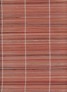 Free Bamboo Stick Straw Mat Texture Stock Image - 6618461