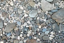 Heap Of River Stones Royalty Free Stock Image
