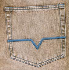 Free Grey Jean Pocket Royalty Free Stock Photo - 6618555