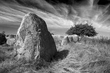 Free Gravesite Stones Royalty Free Stock Image - 6618796