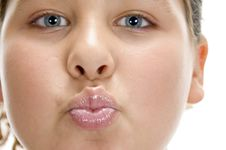 Free Girl Making Pout Mouth Stock Photo - 6618810