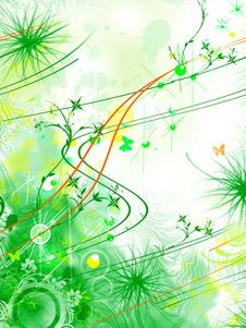 Free Abstract Illustration Royalty Free Stock Photography - 6618957