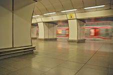 Free Metro Coming Stock Image - 6619901
