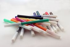 Free Felt Pens Royalty Free Stock Photo - 66131765