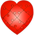 Free Heart Puzzle Stock Images - 6622574
