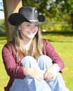 Free Cowgirl Outside Royalty Free Stock Photo - 6625515