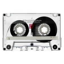 Old Cassette Isolated On White Royalty Free Stock Photos