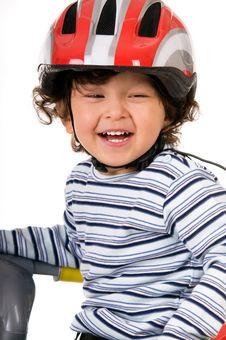 Free Little Biker Stock Photos - 6621523