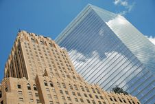 Buildings Into The Sky Royalty Free Stock Photography