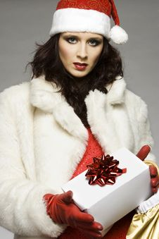 Free Santa Girl Stock Photos - 6621633