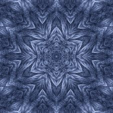 Twisted Yarn Star Mandala 2 Royalty Free Stock Photo