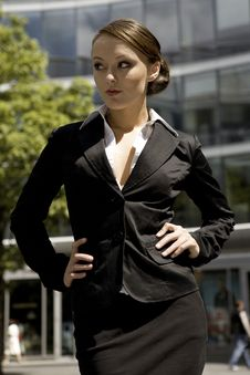 Free Young Businesswoman Stock Image - 6622021