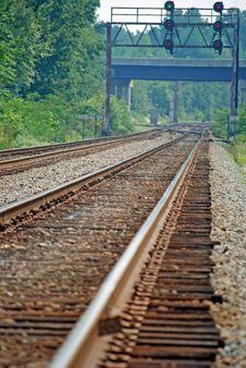 Free Railroad Tracks Stock Image - 6622131
