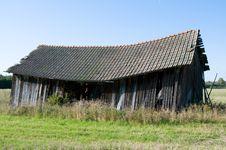 Free Abandoned Barn Royalty Free Stock Photography - 6622377
