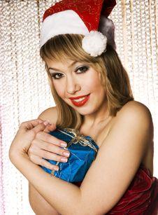 Free Santa Girl Stock Image - 6622541