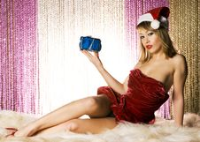 Free Santa Girl Stock Images - 6622544