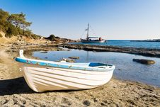 Free Boat On A Beach Stock Photo - 6622800