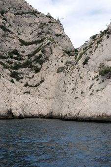 Free Calanques Between Cassis And Marseille Royalty Free Stock Images - 6622829