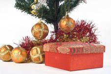 Free Present Under The Christmas Tree Stock Image - 6622831