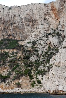 Free Calanques Between Cassis And Marseille Stock Photography - 6622912