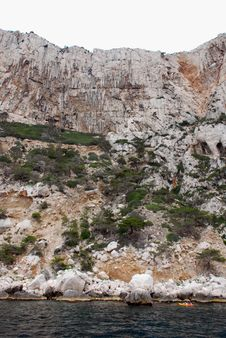 Free Calanques Between Cassis And Marseille Royalty Free Stock Image - 6622916