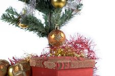 Free Present Under The Christmas Tree Stock Photo - 6622930