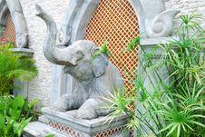 Free Statue Of Elephant Stock Photo - 6623650