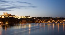 Free Sunset Scenery In Prague Royalty Free Stock Images - 6623899