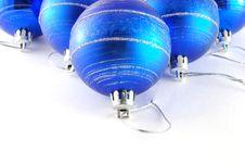 Free Blue Balls Royalty Free Stock Photo - 6624065