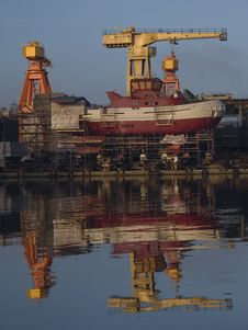 Free Shipyard Stock Images - 6624124