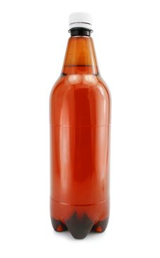 Free Isolated Bottle Of Beer Drink Without Label Stock Image - 6624881