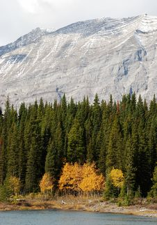 Free Canadian Rockies In Autumn Stock Photography - 6626652