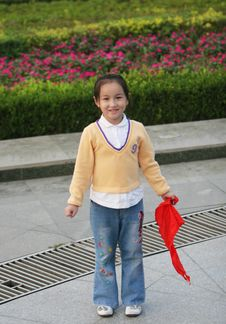 Free Asian   Girl Royalty Free Stock Photography - 6627397