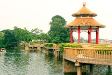 Jieyang West Lake Royalty Free Stock Photography