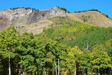 Free Sheep River Valley In Autumn Stock Image - 6628331