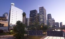 Free Los Angeles At Night Royalty Free Stock Photography - 6628407