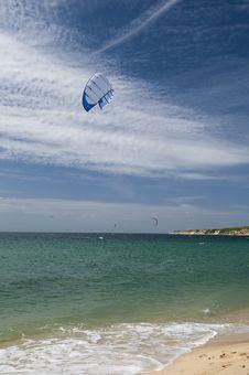 Free Kitesurfing Royalty Free Stock Image - 6629126