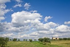 Free Tuscan Landscape Royalty Free Stock Photos - 6629638