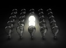 Free Light Bulbs Stock Images - 6629654