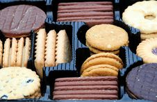 Assorted Biscuits Stock Images