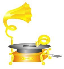Free Gramophone Stock Image - 6629911