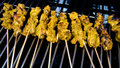 Free BBQing Satay Stock Images - 6630334